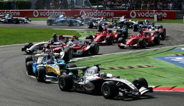 GP da Itália de Formula 1, Monza, em 2005 - portalbrasil.net