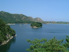 LAGO SAMILPO, COREIA DO NORTE