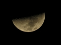 Lua Crescente - 2012. Foto/Cr�dito: (Robertha Mendon�a com Canon SX40 IS)