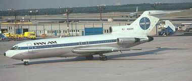Boeing 727-100, da Pan Am