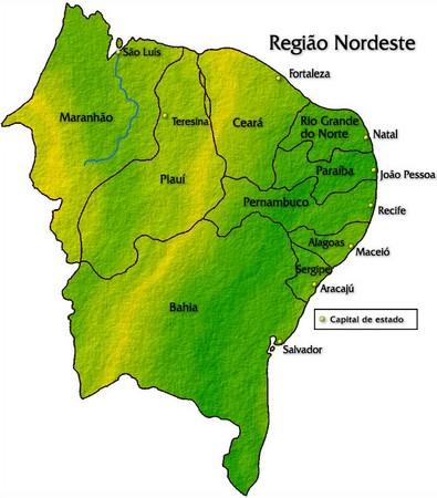 Nordeste (www.portalbrasil.net)