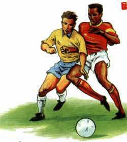 522e196004 Faltas puníveis com uma advertência  Regras do futebol  (www.portalbrasil.net)