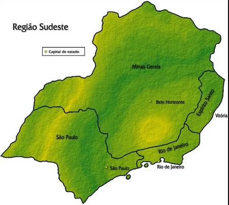 Região Sudeste (www.portalbrasil.net)