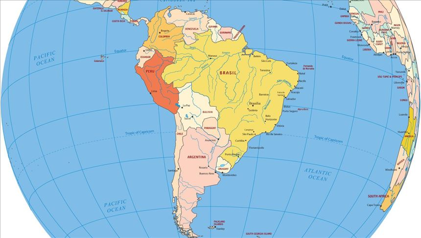 PAÍSES DO MUNDO - AMÉRICAS